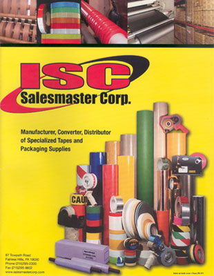 Request a Free 2011 Salesmaster Adhesive Tapes Catalog