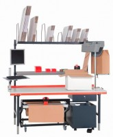 PAPERplus Shooter from STOROpack is available in tabletop or floor models to suit your packing needs
