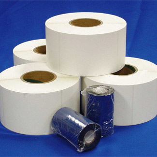 Salesmaster offers a variety of thermal transfer labels, thermal ribbons, and direct thermal labels.